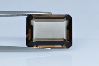 SMQ438M_2 - Smokey Quartz 16x12 Octagon, 9.67 carats