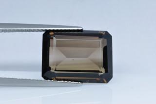 SMQ438M_6 - Smokey Quartz 16x12 Octagon, 9.98 carats