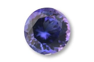 TAN124F2_150 - Tanzanite 7.00 Round, 1.50 carats