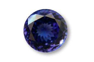 TAN131F_674 - Tanzanite 10.50 Round, 6.74 carats