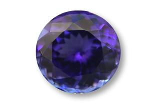 TAN132F_615 - Tanzanite 11.00 Round, 6.15 carats