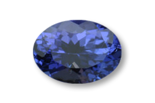 TAN222FPLUS_2 - Tanzanite 8x6 Oval, 1.62 carats