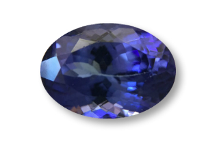 TAN227F_345 - Tanzanite  10x8 Oval, 3.45 carats