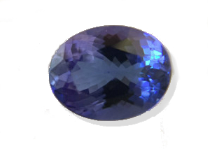TAN227F_301 - Tanzanite  10x8 Oval, 3.01 carats