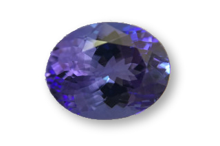 TAN227F_330 - Tanzanite  10x8 Oval, 3.30 carats