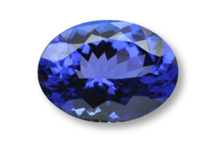 TAN234F_1 - Tanzanite  14x10 Oval, 6.55 carats