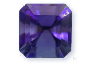 TAN330F_1 - Tanzanite  10x10 Square, 6.21 carats