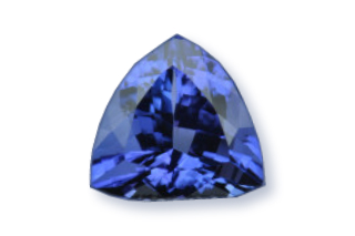TAN730F - Tanzanite 10x10 Trillion, 4.25 carats