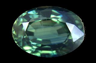 SAPT222M191 - Teal Sapphire 8x6 Oval, 1.91 carats