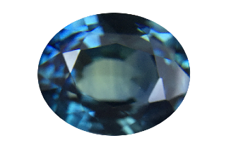 SAPT222M206 - Teal Sapphire 8x6 Oval, 2.06 carats