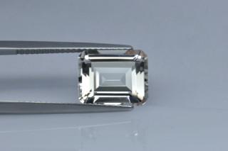 WHT428M - White Topaz 11x9 Octagon, 5.85 carats