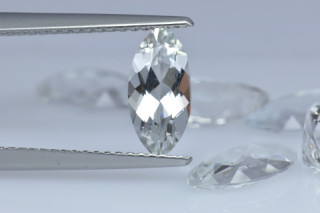 WHT625M - White Topaz 10x5mm Marquise, 1.15 carats