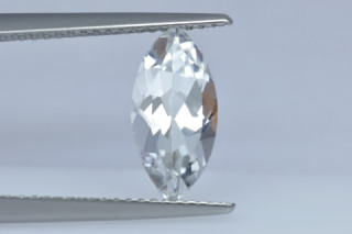 WHT629M - White Topaz 12x6mm Marquise, 2.08 carats